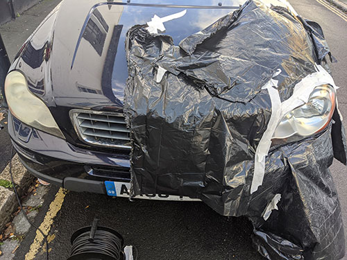 headlight restoration - Hampton, London, TW12, Volvo XC90