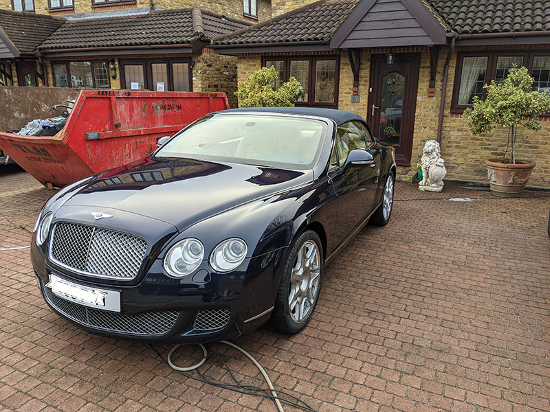 exterior valet, polishing, hersham, london, kt12