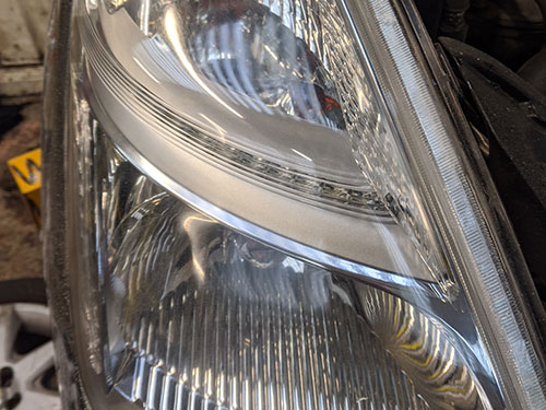 headlight restoration - Kingston, London, KT2, Toyota Prius