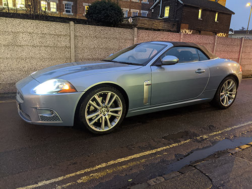 exterior car cleaning, mini valet, Mortlake, Richmond Upon Thames, London, SW14, Jaguar