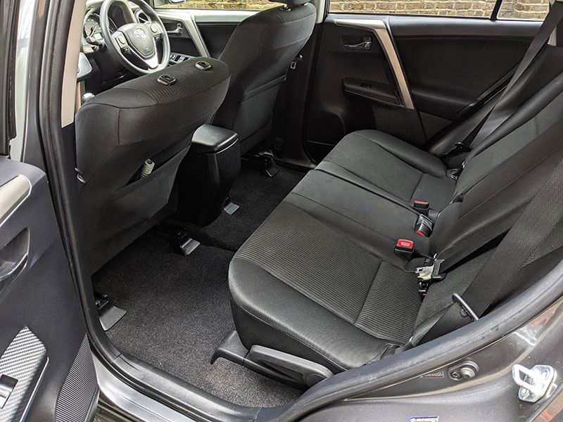 Full Valet, interior cleaning, Richmond, London, TW10, Toyota Rav4