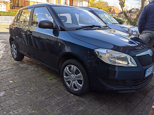 full valet - richmond, london, tw10, skoda fabia