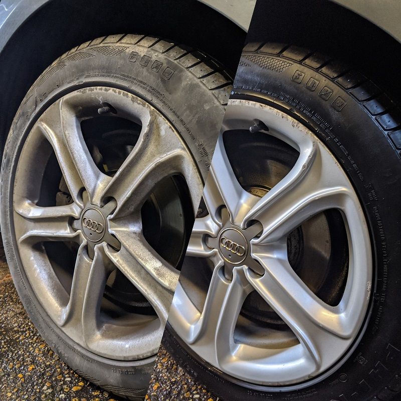 cleaning alloy wheels, essential car cleaning, richmond