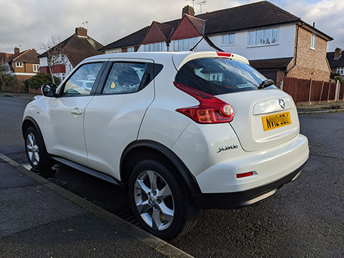 Full Valet, Sutton, London, KT4, Nissan Juke
