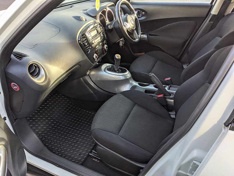 Full Valet, deep interior cleaning, Sutton, London, KT4, Nissan Juke
