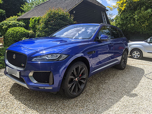 full valet, intensive machine polishing - dorking, surrey, rh5, jaguar f-pace