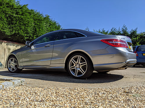 full valet - dorking, surrey, rh5, mercedes e250 coupe