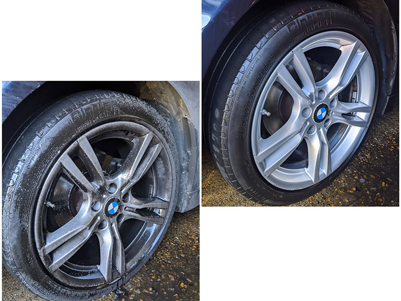 cleaning alloy wheels, essential car cleaning, Guildford, Surrey, GU1
